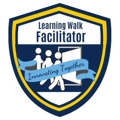 Learning Walk Facilitator badge